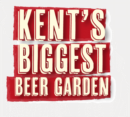 Kents Biggest Beer Garden
